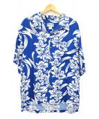 KAMEHAMEHA(カメハメハ)の古着「アロハシャツ」|ブルー