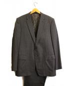 LOUIS VUITTON(ルイヴィトン)の古着「2Bストライプセットアップスーツ」|グレー