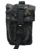 MISSION WORKSHOP(ミッションワークショップ)の古着「カモ柄ボディーバッグ」|ブラック