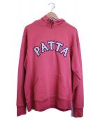Patta(パッタ)の古着「プルオーバーパーカー」|ピンク