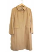 NEWYORKER(ニューヨーカー)の古着「カシミヤ混ステンカラーコート」 ベージュ