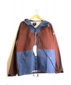 Manastash(マナスタッシュ)の古着「イーストベイパーカー」|ブラウン×ブルー