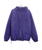 Manastash(マナスタッシュ)の古着「プリマロフト100ジャケット」|ネイビー