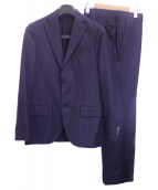 LARDINI(ラルディーニ)の古着「2Bセットアップスーツ」|ネイビー