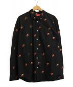 Supreme(シュプリーム)の古着「オックスフォードシャツ」|ブラック