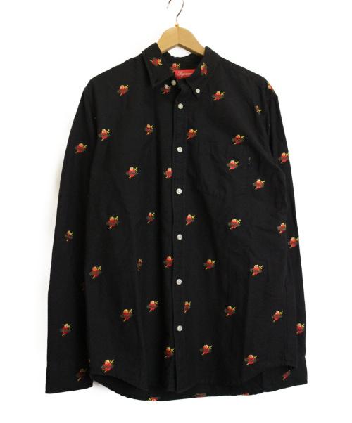 Supreme(シュプリーム)Supreme (シュプリーム) オックスフォードシャツ ブラック サイズ:M 17AW Sacred Hearts OXfordの古着・服飾アイテム