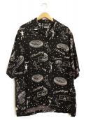 F.C.R.B.(エフシーアールビ)の古着「ハワイアンシャツ」|ブラック
