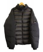 C.P COMPANY(シーピーカンパニ)の古着「ダウンジャケット」|ブラック