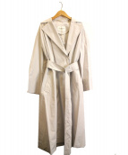 STRAWBERRY FIELDS(ストロベリーフィールズ)の古着「サージュタイプライターコート」 グレー
