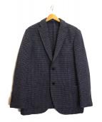 Hilton×RING JACKET(ヒルトン×リングジャケット)の古着「ツイードジャケット」|ブルー