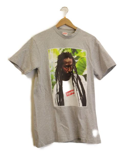 Supreme(シュプリーム)Supreme (シュプリーム) プリントTシャツ グレー サイズ:S 19SS Buju Banton Teeの古着・服飾アイテム