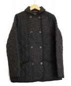 MACKINTOSH(マッキントッシュ)の古着「ウールキルティングジャケット」 ブラック