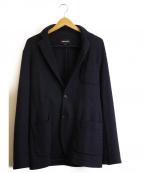 THREE DOTS(スリードッツ)の古着「ウールジャケット」|ネイビー