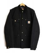 CarHartt(カーハート)の古着「ダック地カバーオール」 ブラック