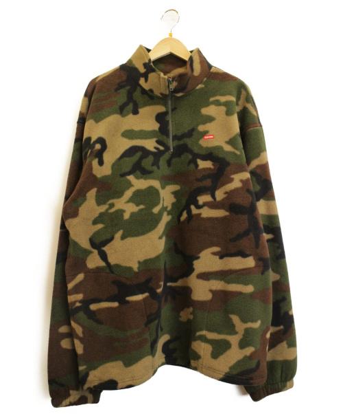 Supreme(シュプリーム)Supreme (シュプリーム) フリースジャケット カーキ サイズ:XL Polartec Half Zip Pullover 19AWの古着・服飾アイテム