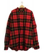 Supreme(シュプリーム)の古着「タータンフランネルシャツ」|レッド