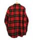 Supreme (シュプリーム) タータンフランネルシャツ レッド サイズ:XL Tartan L/S Flannel Shirt 18AW:8800円
