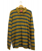 Supreme(シュプリーム)の古着「長袖ポロシャツ」|ベージュ