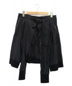 JULIUS(ユリウス)の古着「コンビネーションジャケットパーツ」|ブラック