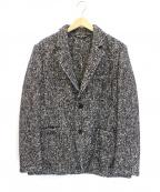 Altea(アルテア)の古着「ニットテーラードジャケット」|グレー