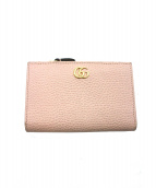 GUCCI(グッチ)の古着「2つ折り財布」 ピンク