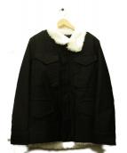CABANE de ZUCCa(カバン・ドズッカ)の古着「裏ボアジャケット」|ブラック