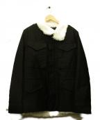 CABANE de ZUCCa(カバン・ドズッカ)の古着「裏ボアジャケット」 ブラック