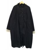 KBF(ケイビーエフ)の古着「ミリタリーアノラック3WAYコート」|ブラック