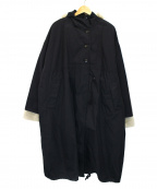 KBF(ケービーエフ)の古着「ミリタリーアノラック3WAYコート」 ブラック
