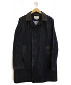 nanamica(ナナミカ)の古着「ゴアテックスデニムステンカラーコート」 インディゴ