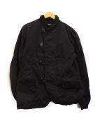 COMME des GARCONS HOMME(コムデギャルソンオム)の古着「ミリタリージャケット」|ネイビー