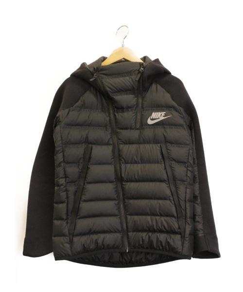 NIKE(ナイキ)NIKE (ナイキ) ジップパーカー ブラック サイズ:M 冬物 804969-010 NIKE B NSW TCH FLC ARLFT JKTの古着・服飾アイテム