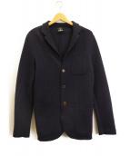 VERTO(ヴェルト)の古着「3Bニットジャケット」|ネイビー