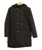 MACKINTOSH(マッキントッシュ)の古着「キルティングフーデッドコート」|グレー