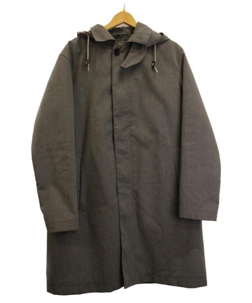 BEAUTY&YOUTH(ビューティーアンドユース)BEAUTY&YOUTH (ビューティーアンドユース) 3WAYライナー付ステンカラーコート グレー サイズ:L 秋物 定価¥29.700(税込)の古着・服飾アイテム
