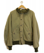 N.HOOLYWOOD(エヌハリウッド)の古着「中綿ブルゾン」|カーキ