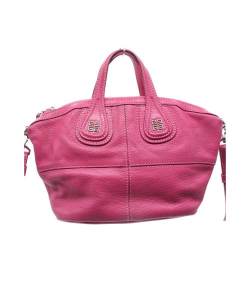 GIVENCHY(ジバンシィ)GIVENCHY (ジバンシィ) 2WAYバッグ ピンク サイズ:下記参照 MA0163 NIGHTINGALE-MICROの古着・服飾アイテム