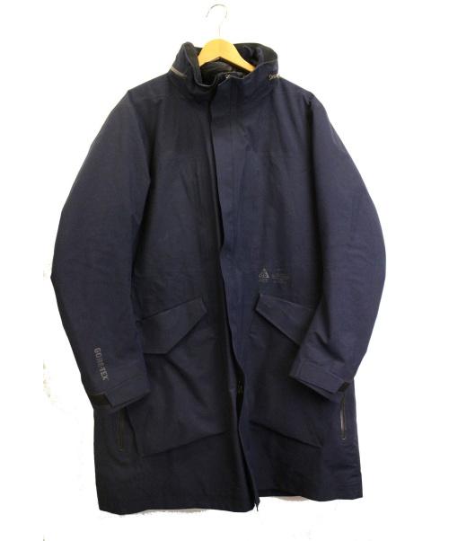 NIKE ACG(ナイキエーシージ)NIKE ACG (ナイキエーシージ) システムメンズトレンチ オブシディアン サイズ:L Trench System 2-in-1 Jacket 812987-451 定価¥81.000の古着・服飾アイテム