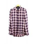 DIESEL(ディーゼル)の古着「チェックシャツ」|ネイビー