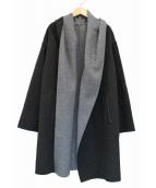 mizuiro-ind(ミズイロインド)の古着「リバーシブルトッパーコート」|グレー