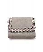 STELLA McCARTNEY(ステラ・マッカートニ)の古着「2つ折り財布」|グレー