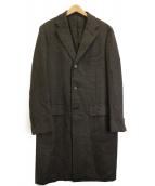 SOVEREIGN(ソブリン)の古着「ヘリンボンチェスターコート」|グレー