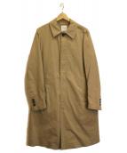 UNITED TOKYO(ユナイテッドトウキョウ)の古着「ステンカラーコート」|ベージュ