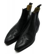 brecos(ブレコス)の古着「サイドゴアブーツ」 ブラック
