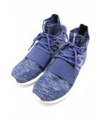 adidas(アディダス)の古着「ミッドカットスニーカー」|ネイビー