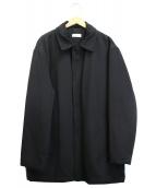 BARNEYS NEWYORK(バーニーズニューヨーク)の古着「中綿ステンカラーコート」|ブラック
