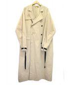 SUNSEA(サンシー)の古着「COLUMBO COAT」|ベージュ
