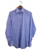 PRADA(プラダ)の古着「ストレッチシャツ」|ブルー