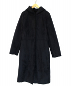 Demi-Luxe BEAMS(デミルクスビームス)の古着「エコムートンコート」 ネイビー