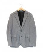 EPOCA UOMO(エポカウォモ)の古着「カシミヤ混ジャケット」|グレー